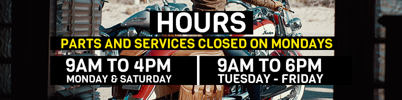 Chesapeake Cycles Hours