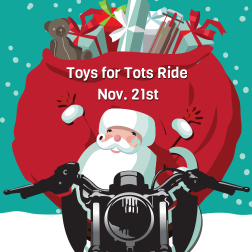 Chesapeake Cycles Toys for Tots Ride