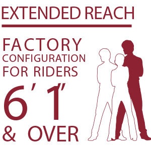 Indian Motorcycle Extended Reach