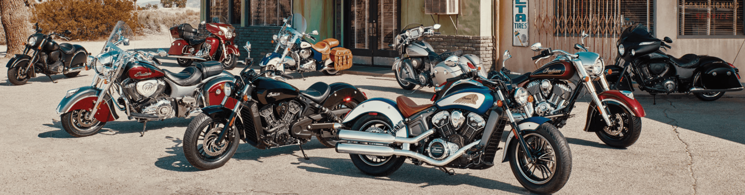 2017 Indian Motorcycle Line Up