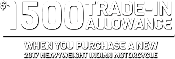 August Heavyweight Indian Motorcycle Promotion