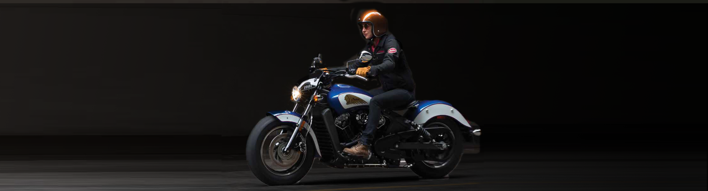 woman on 2017 Indian Scout Icon