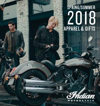 Indian Motorcycle 2018 Spring/Summer Apparel Catalog