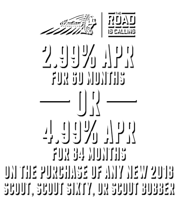2018 Road Is Calling Promotion Text Indian Motorcycle